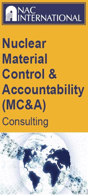 Nuclear Material Control & Accountability (MC&A) Consulting.